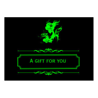 Salon-Geschenk-Zertifikat (Limon) Visitenkarten Vorlage