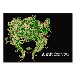 Salon-Geschenkgutschein Jumbo-Visitenkarten