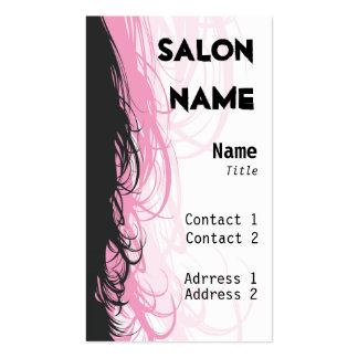 Salon-Visitenkarte - besonders angefertigt Visitenkarten