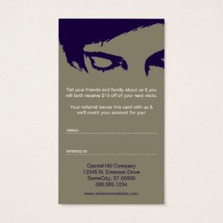 Salonempfehlungsprogramm: emo Art Visitenkarte