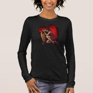 Salsa-Herzschlag Langarm T-Shirt
