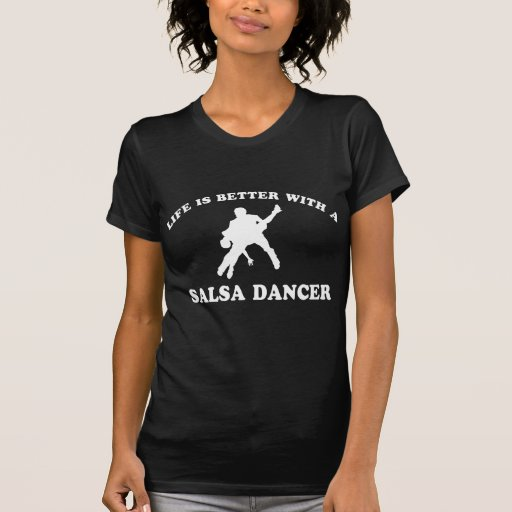 Salsa-Tänzer-Entwürfe Shirt