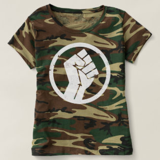 Salsa-Untergrund-T - Shirt-Frauen-Camouflage T-shirt