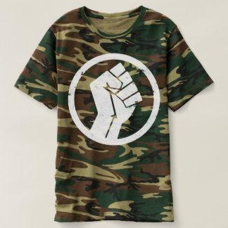 Salsa-Untergrund-T - Shirt-Mann-Camouflage T-shirt