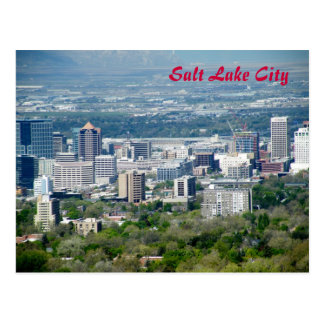 Salt Lake City Postkarte