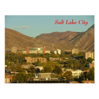 Salt Lake City Postkarte