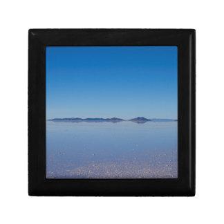 Salt Lake in Salar de Uyuni, Bolivien Erinnerungskiste