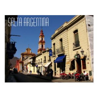 Salta Argentinien Postkarte