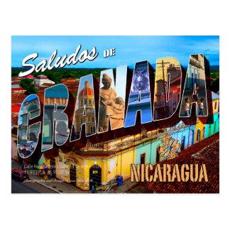 Saludos De Granada, Nicaragua Postkarte