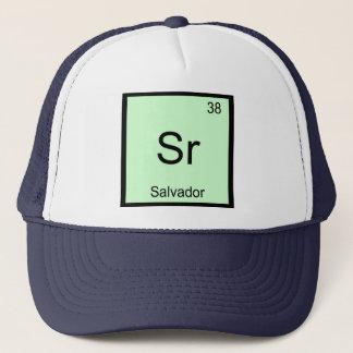 Salvadornamenschemie-Element-Periodensystem Truckerkappe