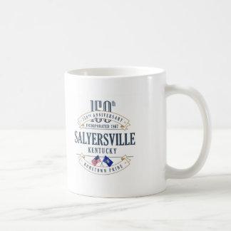 Salyersville, 150. Jahrestags-Tasse Kentuckys Kaffeetasse