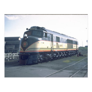 """SALZ-Eisenbahn Baldwin """"Hundertfüßer """" Postkarte"""