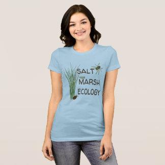 Salz-Sumpf-Ökologie-T - Shirt - Blau