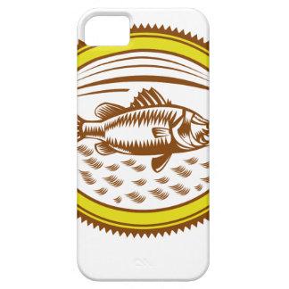 Salz-Wasser-barramundi-Seite-OVAL iPhone 5 Etui