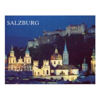 Salzburg Postkarte