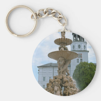 Salzburg-Wohnsitz-Brunnen Schlüsselanhänger