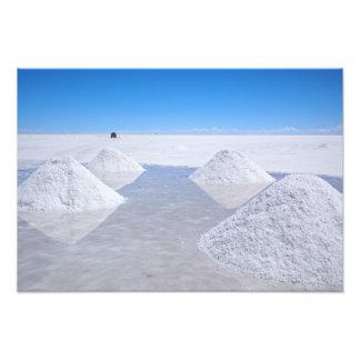 Salzebene-Fotodruck Salars de Uyuni Photo Druck