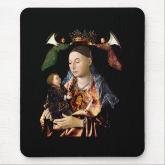 Salzen von Madonna und von Christus-Kind Mauspad