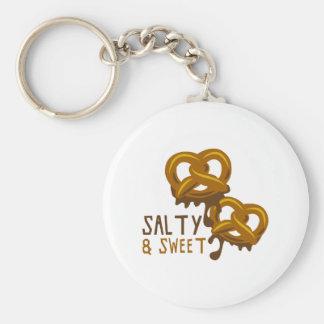 Salzig u. süß schlüsselanhänger