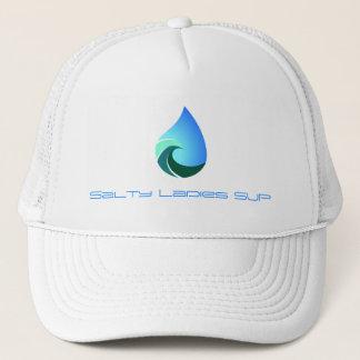 Salzige Damen SUP Hut von diesem salzigen Leben Truckerkappe