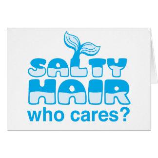 salziges Haar, wer sich interessiert? Karte