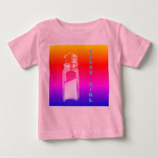 Salziges Salz-Schüttel-Apparatmädchen Baby T-shirt
