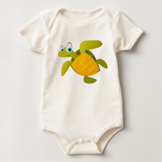 Sam die Meeresschildkröte Baby Strampler
