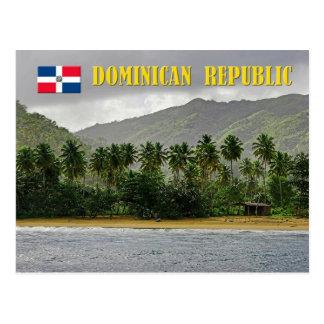Samana Strand, Dominikanische Republik Postkarte