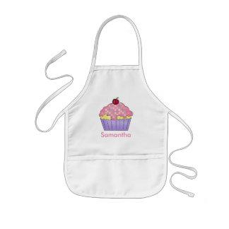 Samanthas personalisierte Kuchen-Schürze Kinderschürze