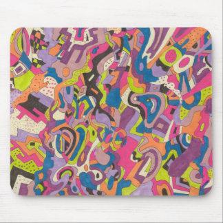 """Samba"" abstrakt Mousepad"