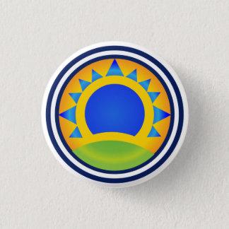 Samba-Sonnenaufgang - Knopf Runder Button 2,5 Cm