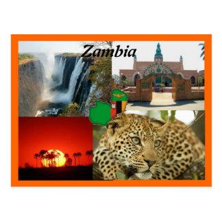 Sambia-Postkarte Postkarte