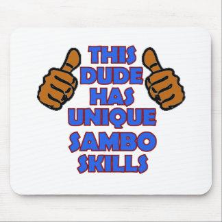 Sambo-Entwürfe Mousepad