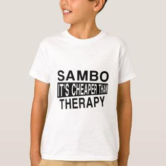 SAMBO IST ES BILLIGER ALS THERAPIE T-Shirt