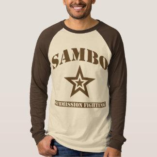 Sambo-langer Hülseraglan-T - Shirt