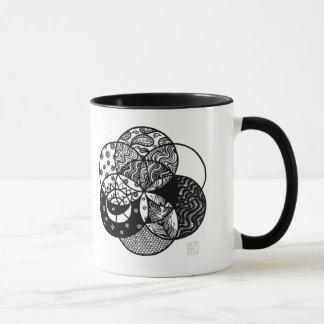 Samen der Lebenmandala-Tasse Tasse