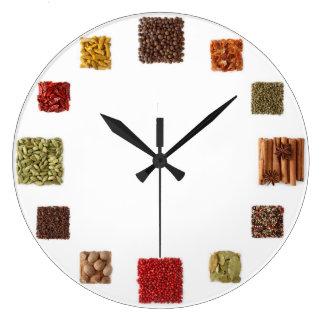 Samen und Gewürz-Uhr für jede Küche Uhren