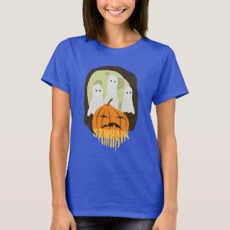 Samhain/Samaín pumpkin and ghosts TSHIRT