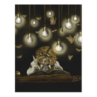 "Sammelbare Postkarte ""der Beleuchtung"""