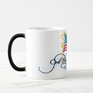 Sammelbare Tasse - Gott segnen Amerika