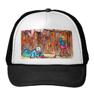 Sammelpacks, Zäune und Wäscheleinen Retrokult Cap