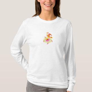 Sammlung Happy, Flowers - T-Shirt