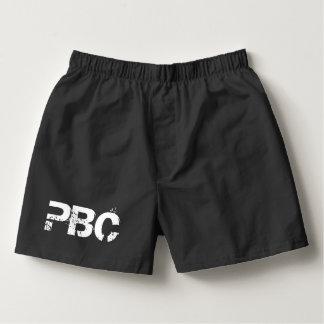 Sammlung Peter Bayfield - schwarze Boxer Herren-Boxershorts