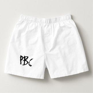 Sammlung Peter Bayfield - weiße Boxer Herren-Boxershorts