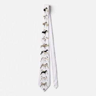 Sammlungswhippet Krawatte