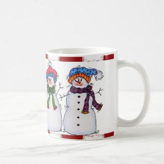Sammy der Snowman und die Freund-Tasse Kaffeetasse