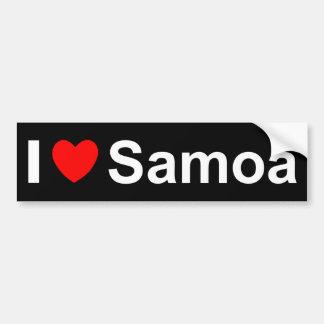 Samoa-Inseln Autoaufkleber