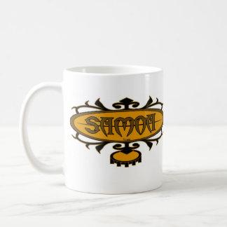 Samoa-Inseln Brandung Ava (Gold/Brown) Kaffeetasse