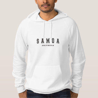Samoa-Inseln das Polynesien Hoodie