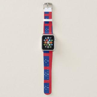 Samoa-Inseln Flagge Apple Watch Armband